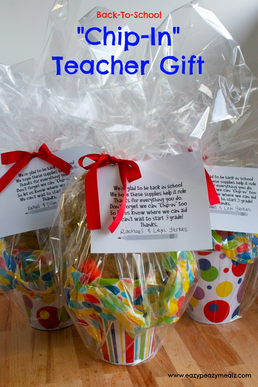 Back To School Chip In Teachers Gift With Office Max Easy Peasy