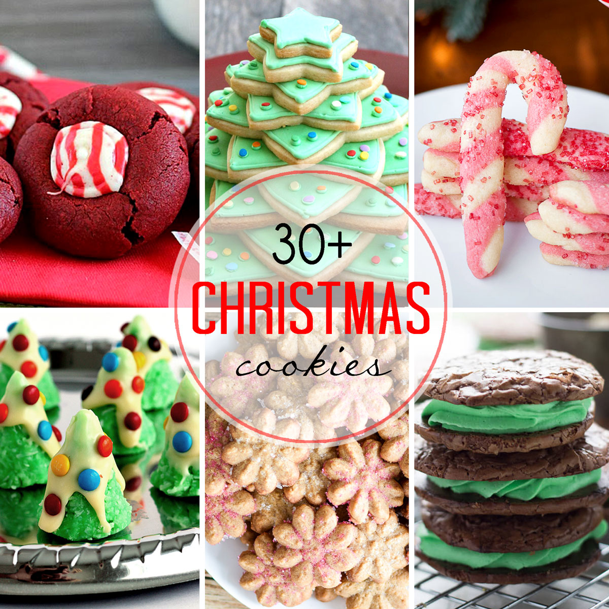 30 + Christmas Cookie Roundup - Easy Peasy Meals