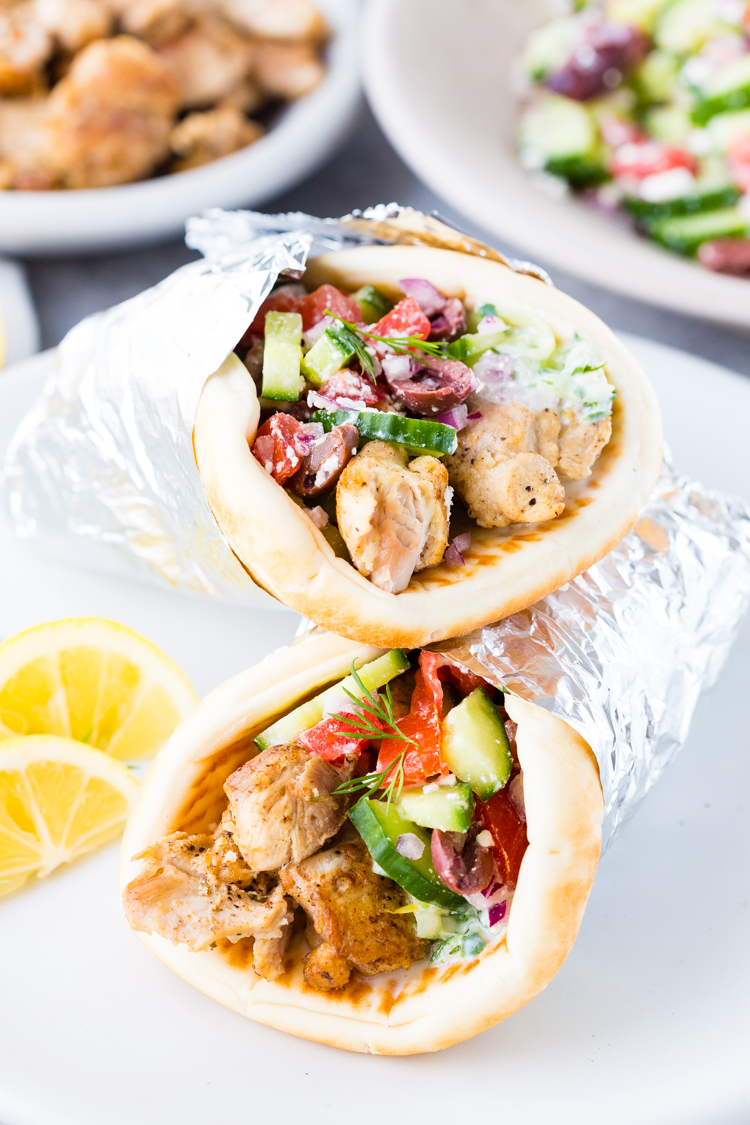 Instant Pot Chicken Gyros