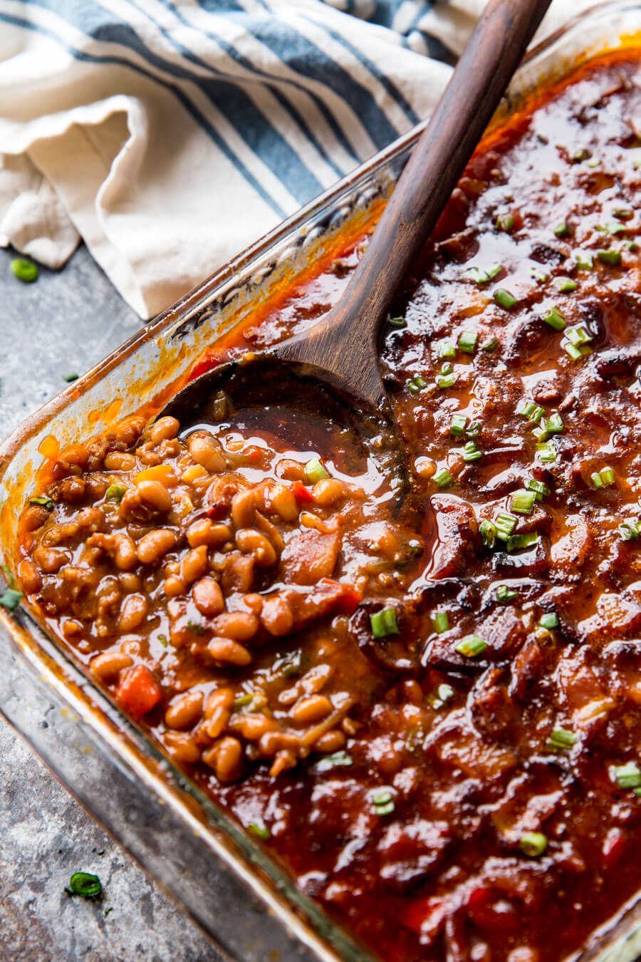 How to make good bbq baked beans at homemade smoked sausage