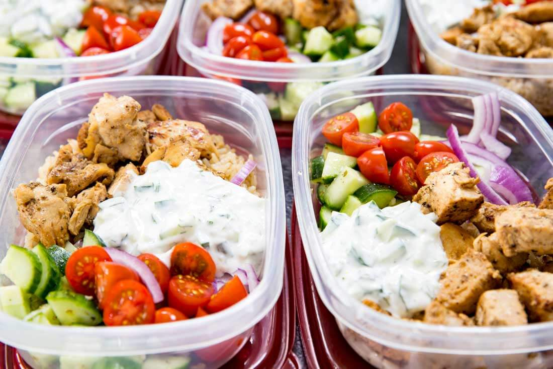 Greek Chicken Bowls (Meal Prep Easy) - Easy Peasy Meals